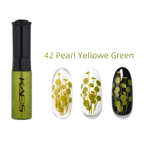 Nail Stamp Polish 10ml Pearl Yellow Green