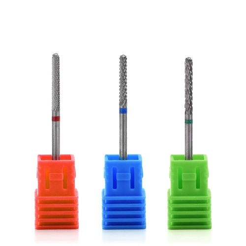 Slender Tungsten Carbide Nail Drill Bit 300061