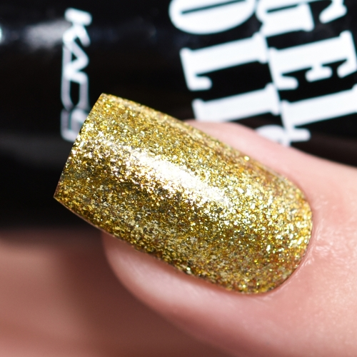 Platinum Glitter Gel Nail Polish